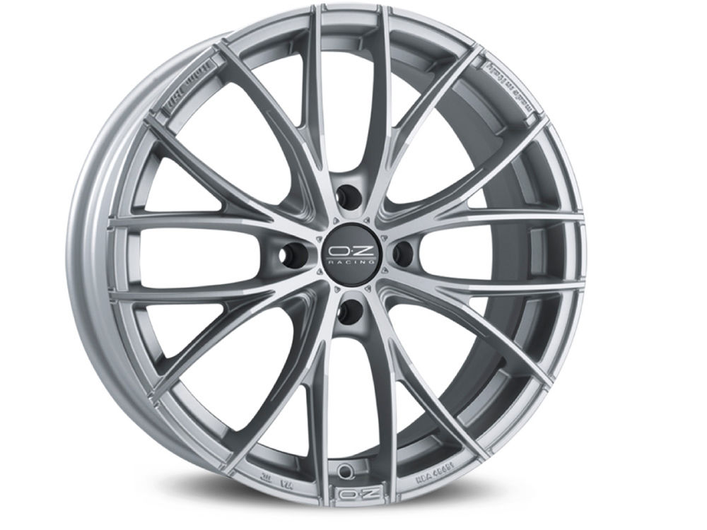 CERCHIO OZ ITALIA 150 4F 7X17 ET37 4X 98 68 MATT RACE SILVER DIAMOND CUT TUV/NAD
