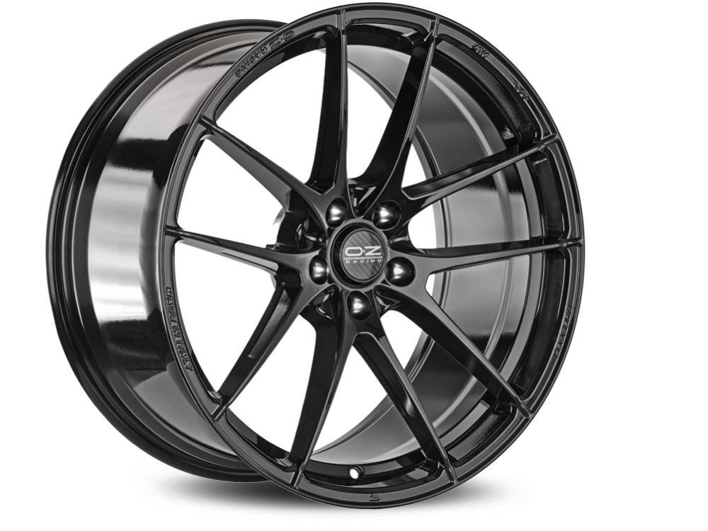 WHEEL OZ LEGGERA HLT 8X19 ET45 5X108 75 GLOSS BLACK TUV/NAD