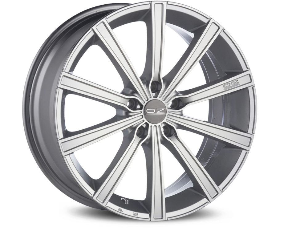 WHEEL OZ LOUNGE 10 8X19 ET45 5X108 75 METAL SILVER DIAMOND CUT
