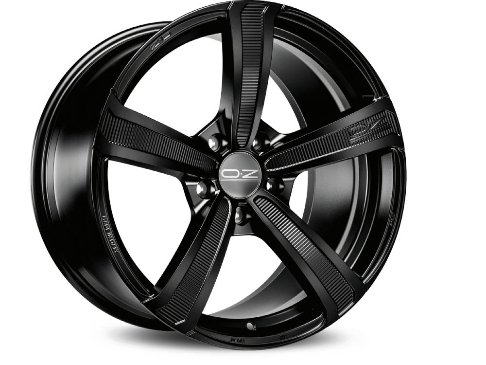 WHEEL OZ MONTECARLO HLT 9,5X22 ET40 5X108 75 MATT BLACK