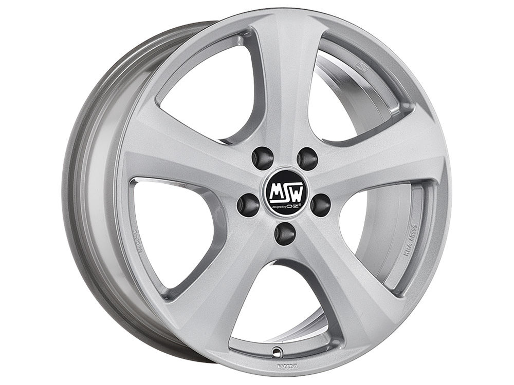 DISK MSW MSW 19 W 6,5X16 ET36 5X127  FULL SILVER TUV/NAD