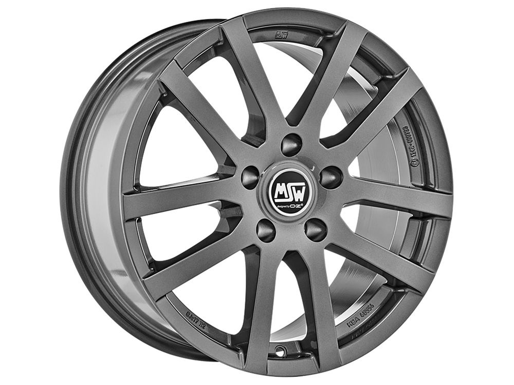 FELGE MSW MSW 22 6X15 ET42 5X108 73 GREY SILVER TUV/NAD