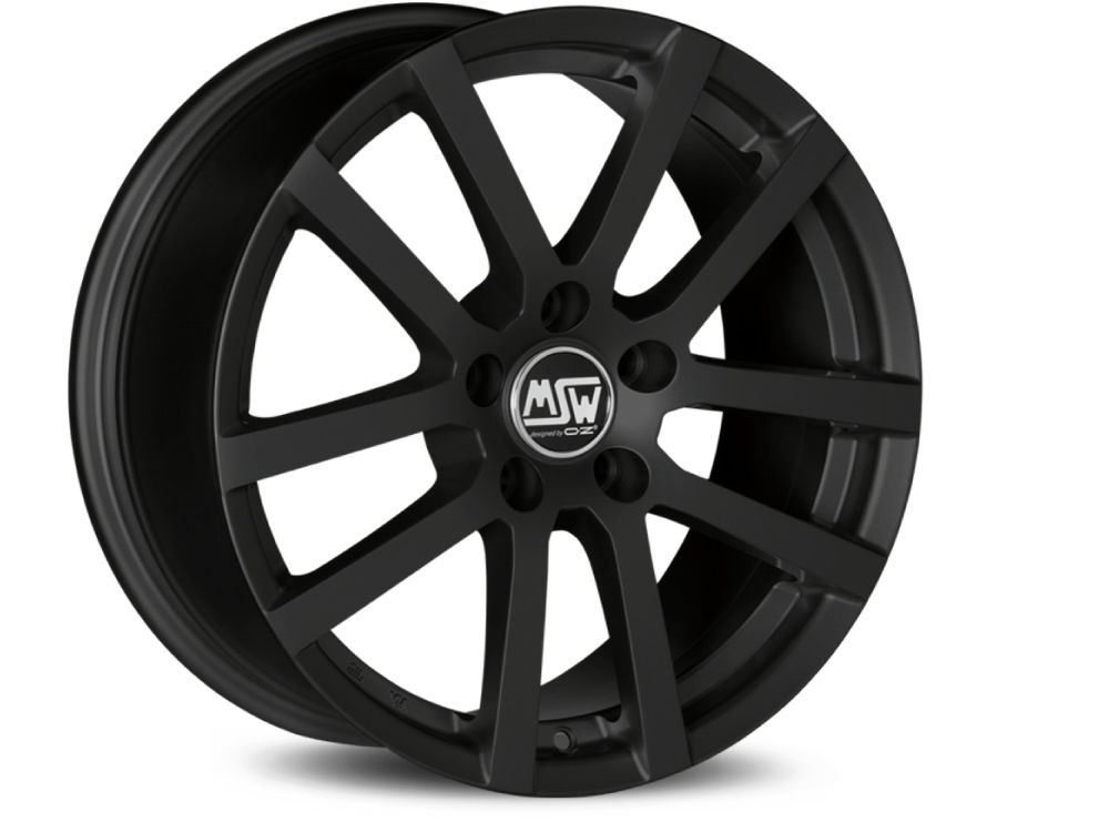 WHEEL MSW MSW 22 6,5X16 ET42 4X108 63,4 MATT BLACK TUV/NAD