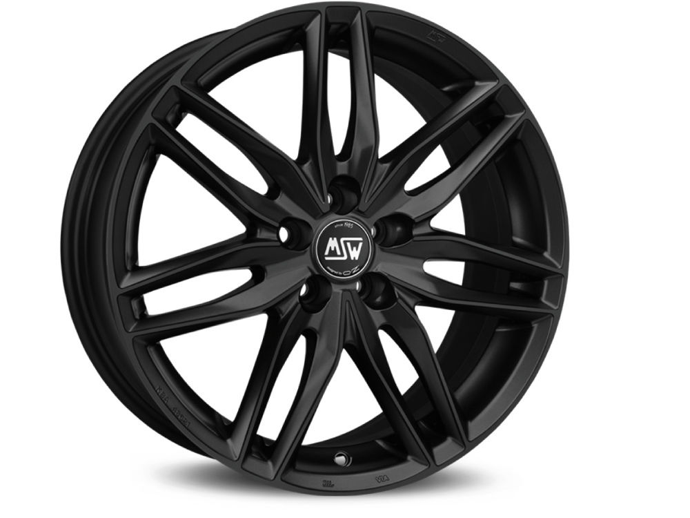 WHEEL MSW MSW 24 8X17 ET45 5X108 73 MATT BLACK TUV/NAD