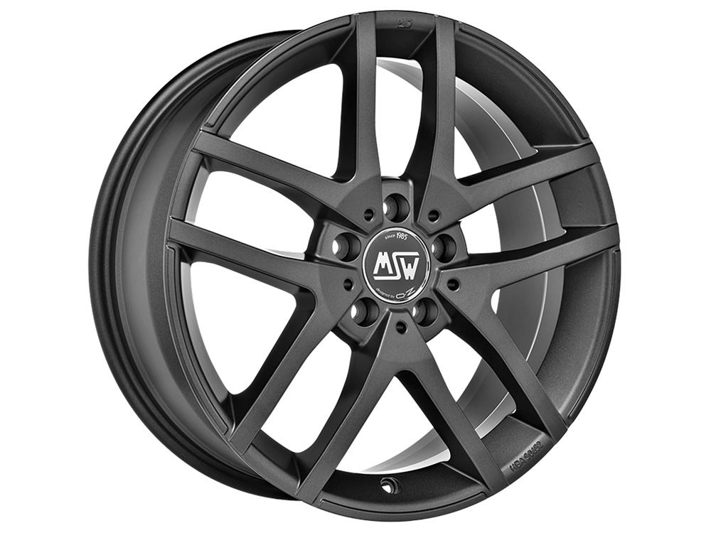 WHEEL MSW MSW 28 7X17 ET45 5X108 73 MATT DARK GREY