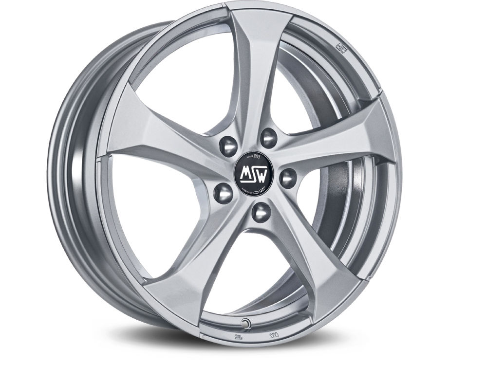 RIM MSW MSW 47 8X18 ET45 5X108 73 FULL SILVER TUV/NAD