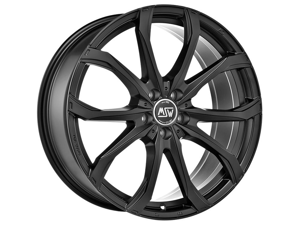 WHEEL MSW MSW 48 8,5X20 ET50 5X127 71,56 MATT BLACK TUV/NAD