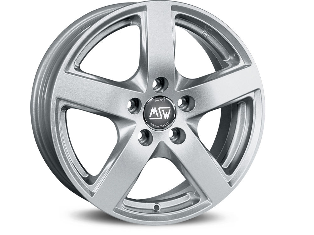 RIM MSW MSW 55 6,5X16 ET47,5 5X108 63,34 FULL SILVER TUV/NAD