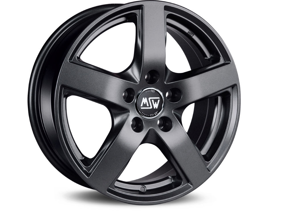 WHEEL MSW MSW 55 6,5X16 ET41 5X115 70,2 MATT DARK GREY TUV/NAD