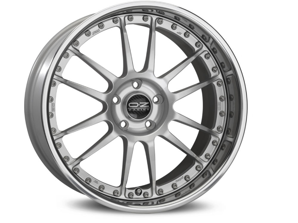 CERCHIO MODULAR WHEELS SUPERLEGGERA III 8X19 ET47 5X114,30 75 OZ RACE SILVER