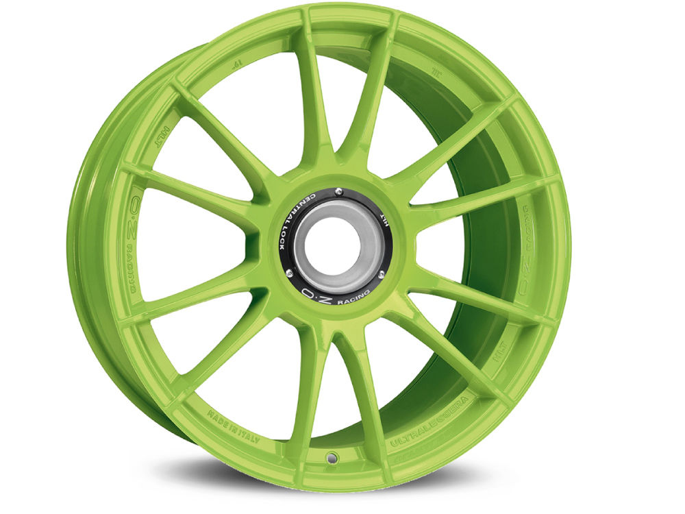 FELGE OZ ULTRALEGGERA HLT CL 12X19 ET63 15X130 84 ACID GREEN