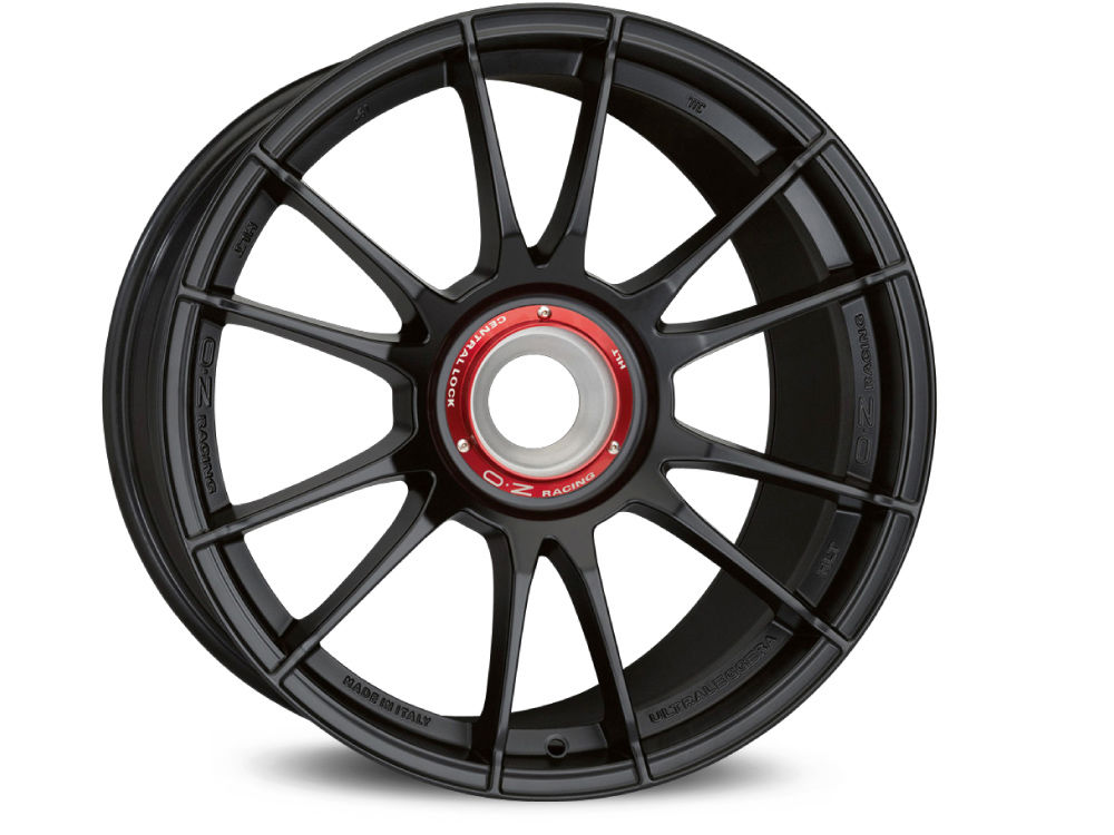 JANTE OZ ULTRALEGGERA HLT CL 8,5X19 ET53 15X130 84 MATT BLACK