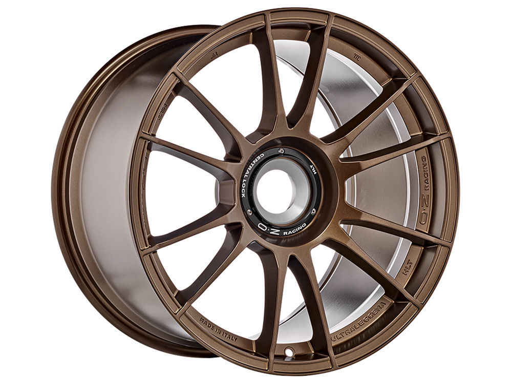 WHEEL OZ ULTRALEGGERA HLT CL 11X19 ET51 15X130 84 MATT BRONZE