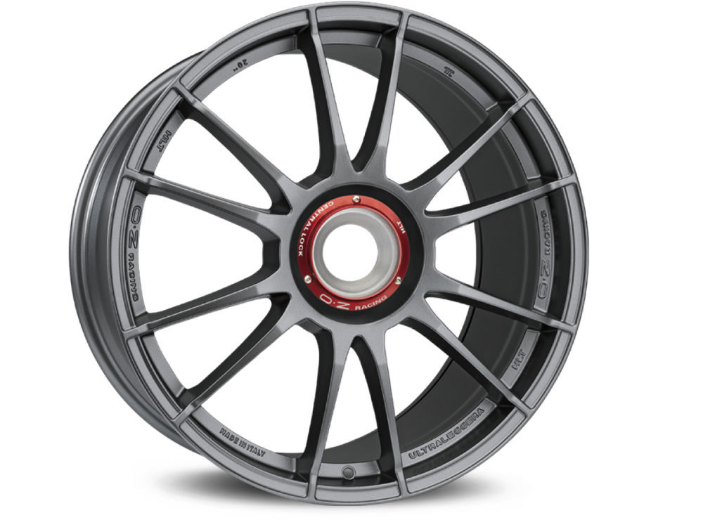 WHEEL OZ ULTRALEGGERA HLT CL 11X19 ET51 15X130 84 MATT GRAPHITE SILVER
