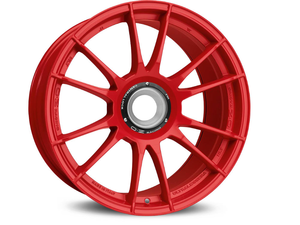 LLANTA OZ ULTRALEGGERA HLT CL 8,5X19 ET53 15X130 84 RED