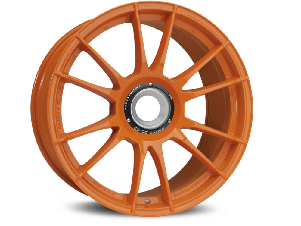 FELGE OZ ULTRALEGGERA HLT CL 12X19 ET63 15X130 84 ORANGE