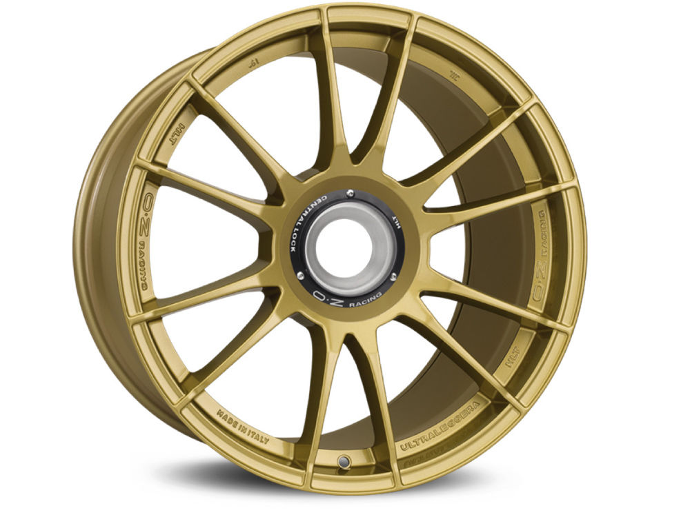 LLANTA OZ ULTRALEGGERA HLT CL 8,5X19 ET53 15X130 84 RACE GOLD