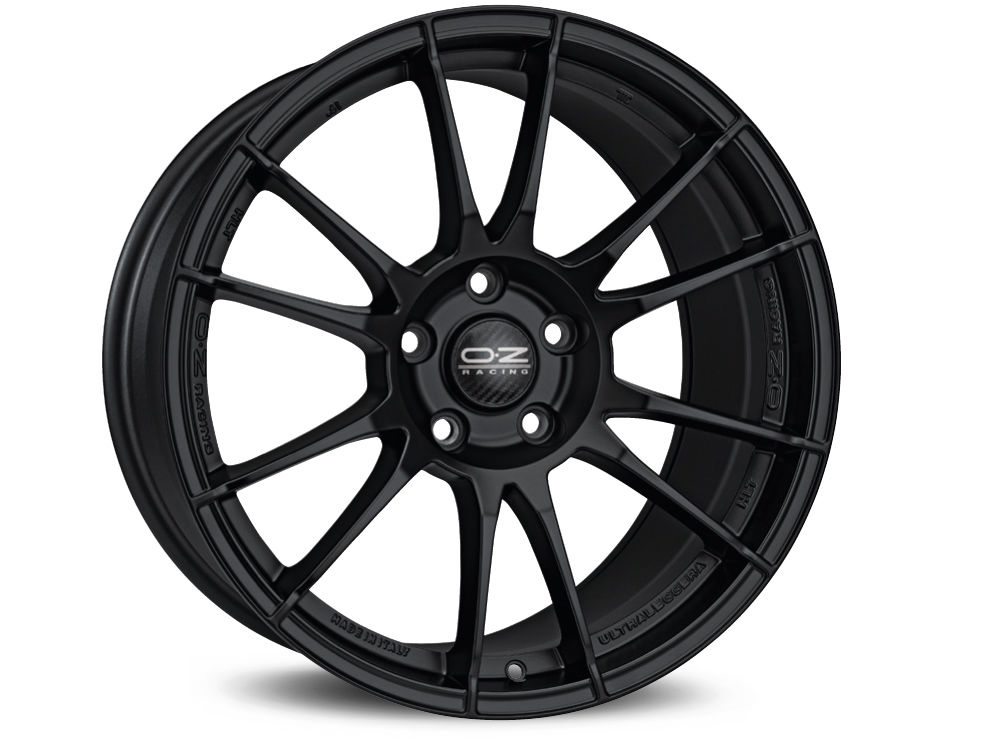 CERCHIO OZ ULTRALEGGERA HLT 9X19 ET42 5X112 75 MATT BLACK