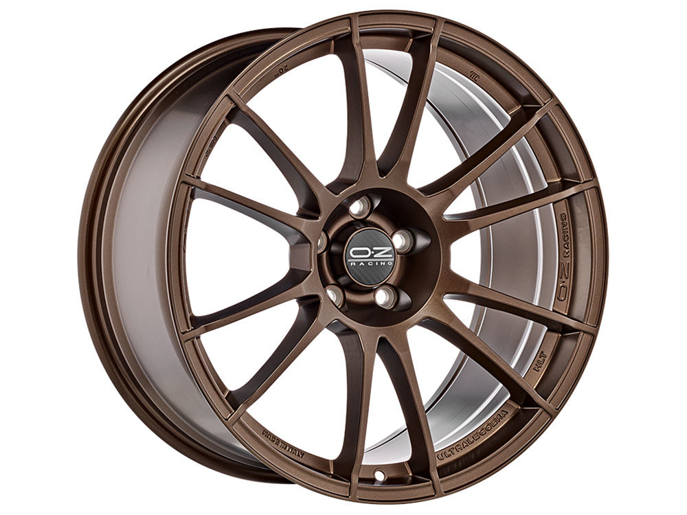 CERCHIO OZ ULTRALEGGERA HLT 9X19 ET48 5X 98 58,06 MATT BRONZE