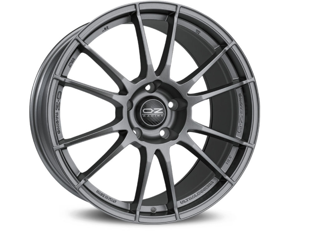WHEEL OZ ULTRALEGGERA HLT 8,5X20 ET25 5X114,30 75 MATT GRAPHITE SILVER