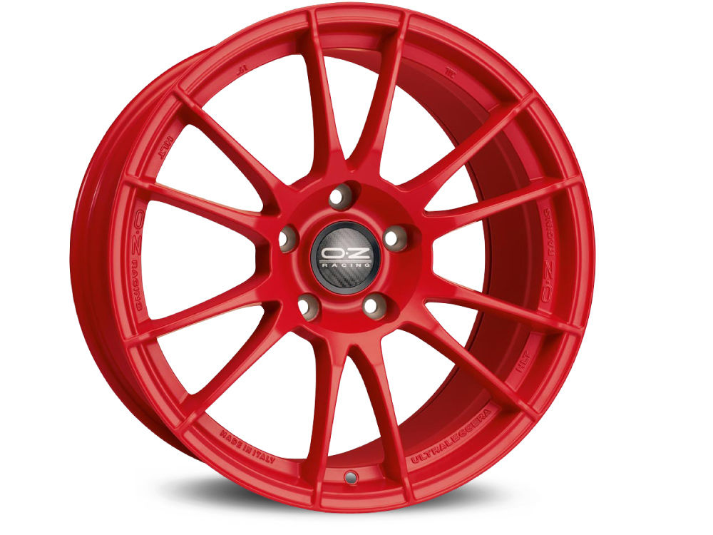 CERCHIO OZ ULTRALEGGERA HLT 8X19 ET45 5X112 75 RED TUV/NAD
