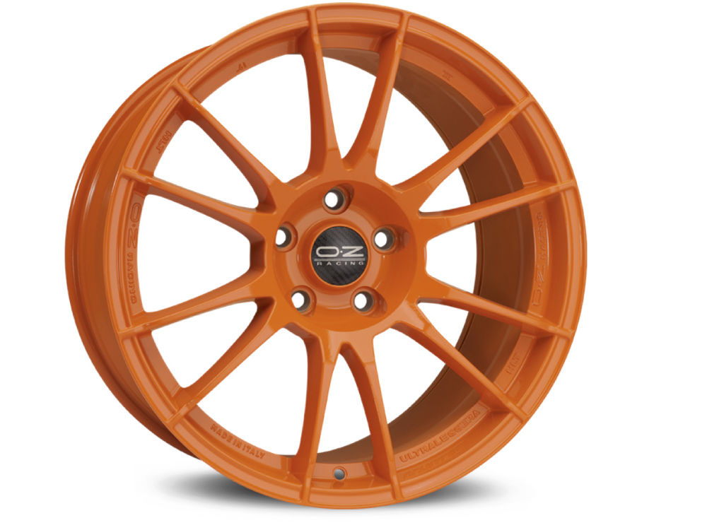 DISK OZ ULTRALEGGERA HLT 8,5X19 ET27 5X108 67,04 ORANGE
