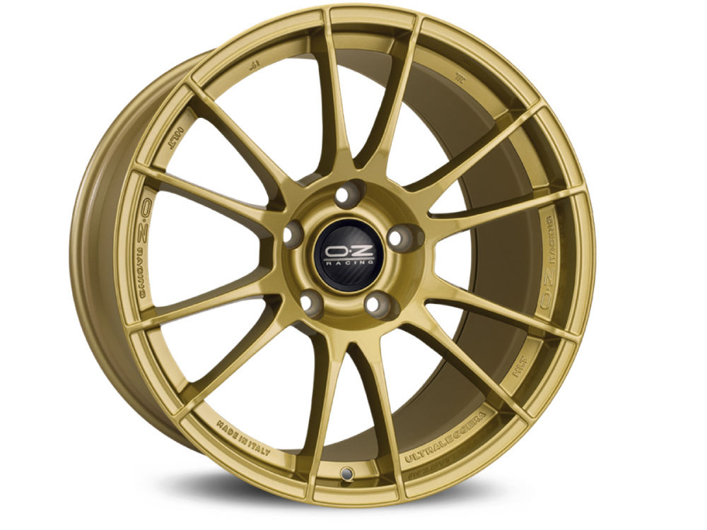 CERCHIO OZ ULTRALEGGERA HLT 8,5X19 ET27 5X108 67,04 RACE GOLD