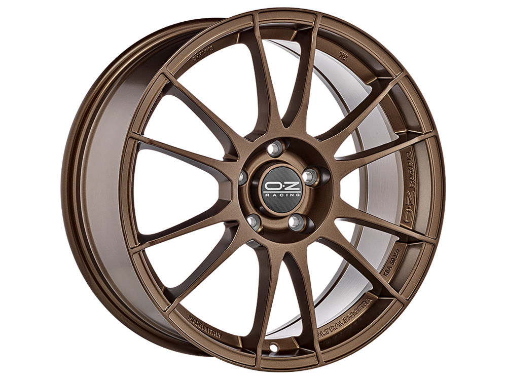 CERCHIO OZ ULTRALEGGERA 7,5X18 ET50 5X112 75 MATT BRONZE