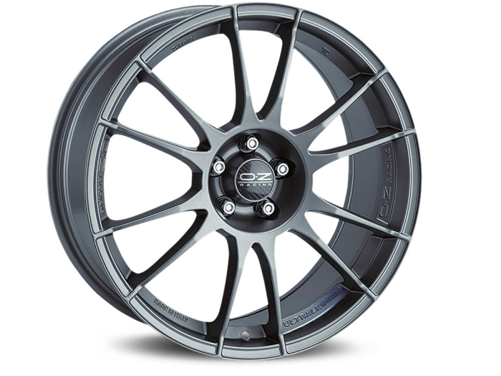 WHEEL OZ ULTRALEGGERA 8X18 ET42 5X115 70,2 MATT GRAPHITE SILVER