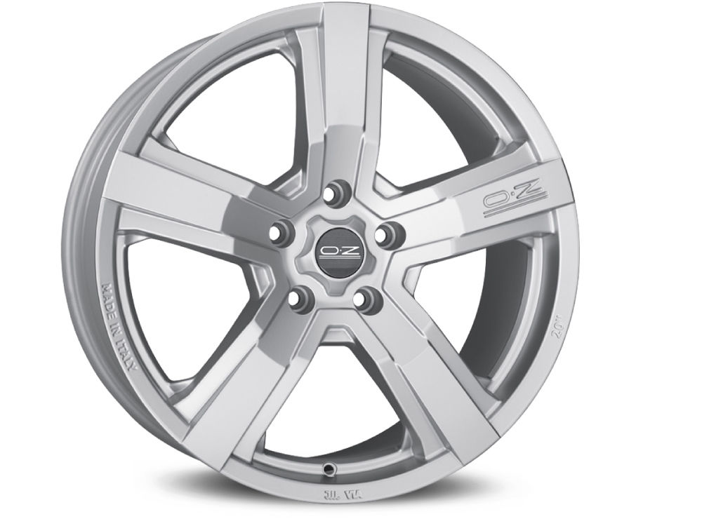WHEEL OZ VERSILIA 8X18 ET45 5X127 71,6 MATT RACE SILVER