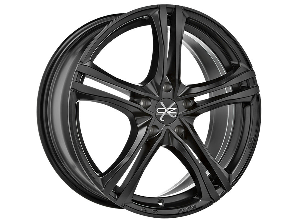 WHEEL OZ X5B 8X18 ET45 5X108 75 MATT BLACK TUV/NAD